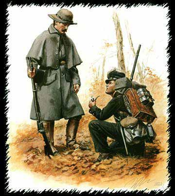 "/""Officer Berdan's Sharpshooter 1862 Don Troiani American Civil War/"""